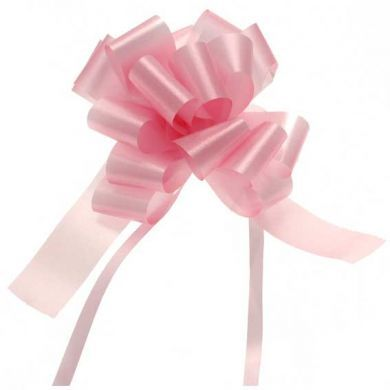 "Baby Pink 2"" Pull Bow"