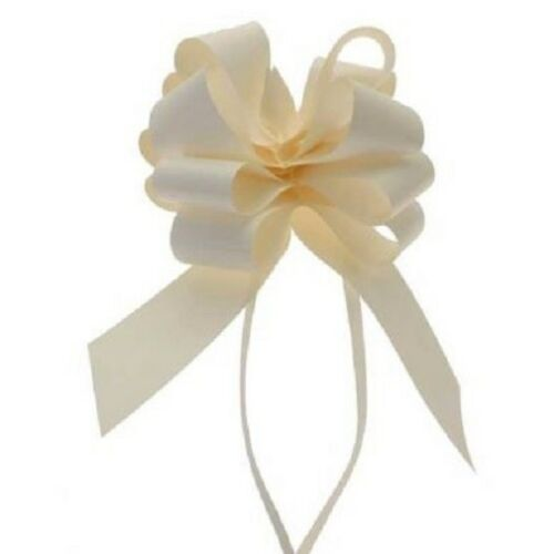 "Ivory 2"" Pull Bows"