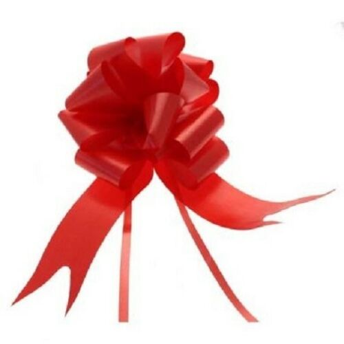 "Red 2"" Pull Bows"