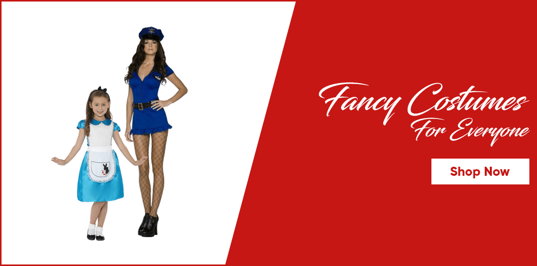 Fancy dress costumes banner