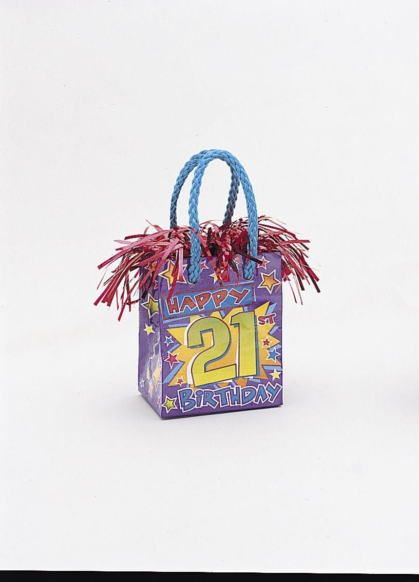 21st Gift Bag Weight 316 P