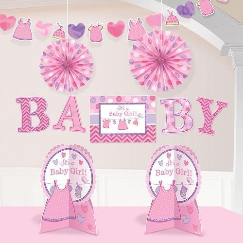 Baby Girl Room Decorating Kit
