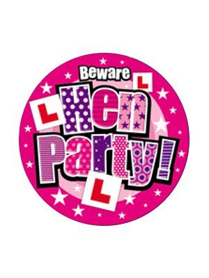 Large Hen Party Badge