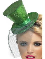 Mini Topper Hat Green