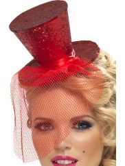 Mini Topper Hat Red