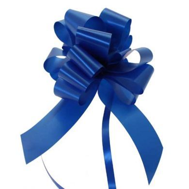"Royal Blue 2"" Pull Bow"