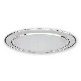 Single Section Stainless Steel Vegetable Platter