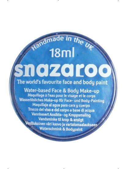 Snazaroo Baby Blue Face Paint 18ml